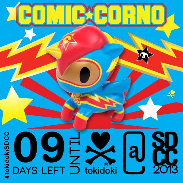 tokidoki SDCC 2013 Comic-Corno