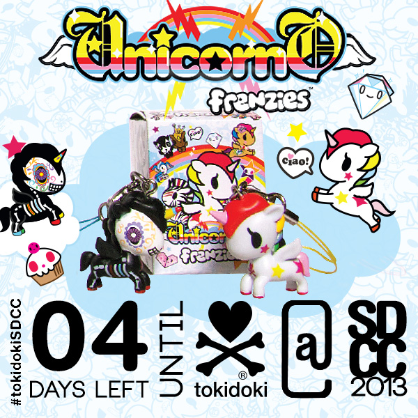 SDCC 2013 tokidoki Unicorno Frenzies