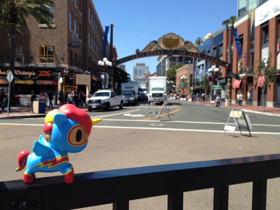 tokidoki's Comic-Corno has arrived at SDCC 2013!