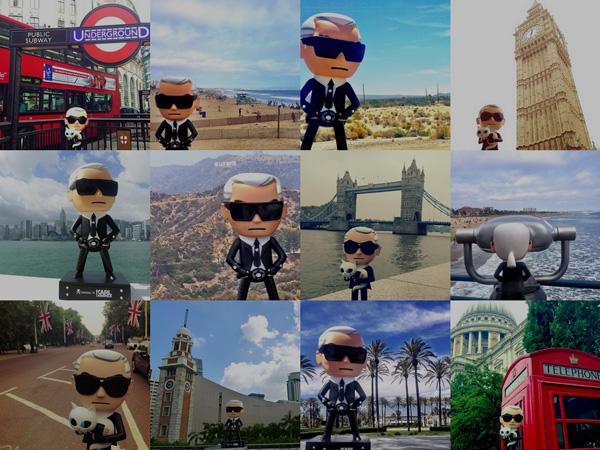 tokidoki x Karl Lagerfeld #Karlyourworld Net-a-porter Contest