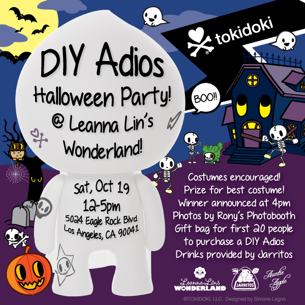 DIY Adios Flyer