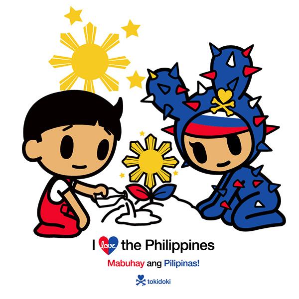 tokidoki Mabuhay ang Pilipinas!