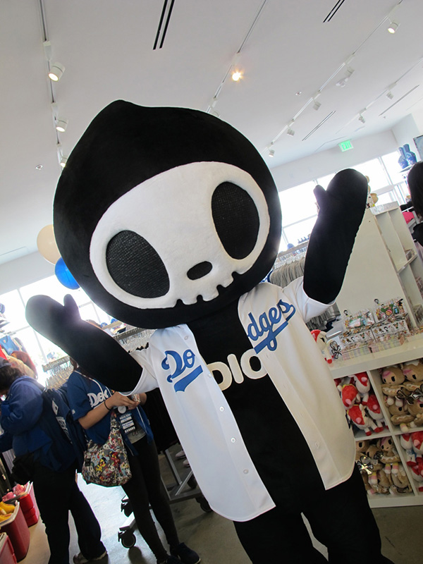 tokidoki x MLB: Adios at DOdger Stadium for Opening Day 2014