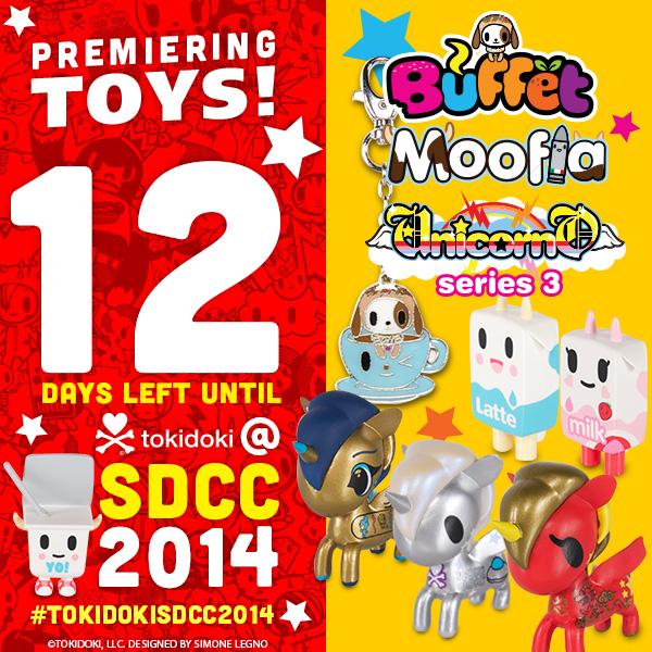 tokidoki SDCC Countdown!