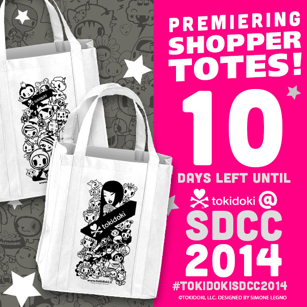 tokidoki Countdown to SDCC 2014