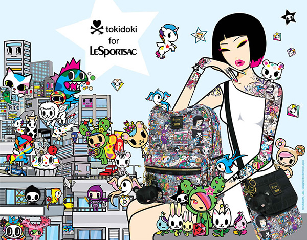 tokidoki for LeSportsac 2014 Collection