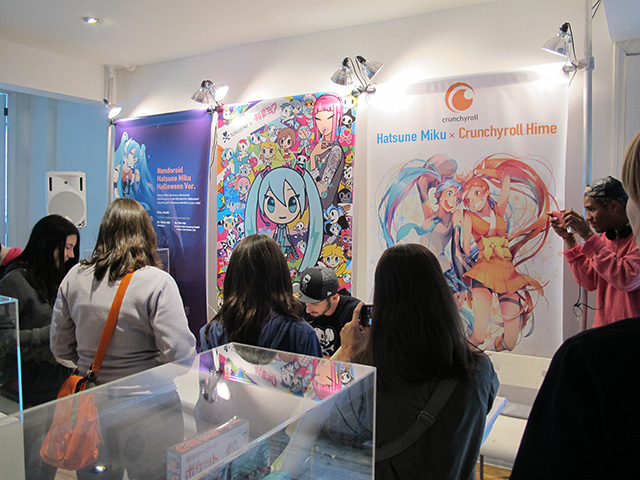tokidoki x Hatsune Miku Signing Event at Gallery Wallplay in NY