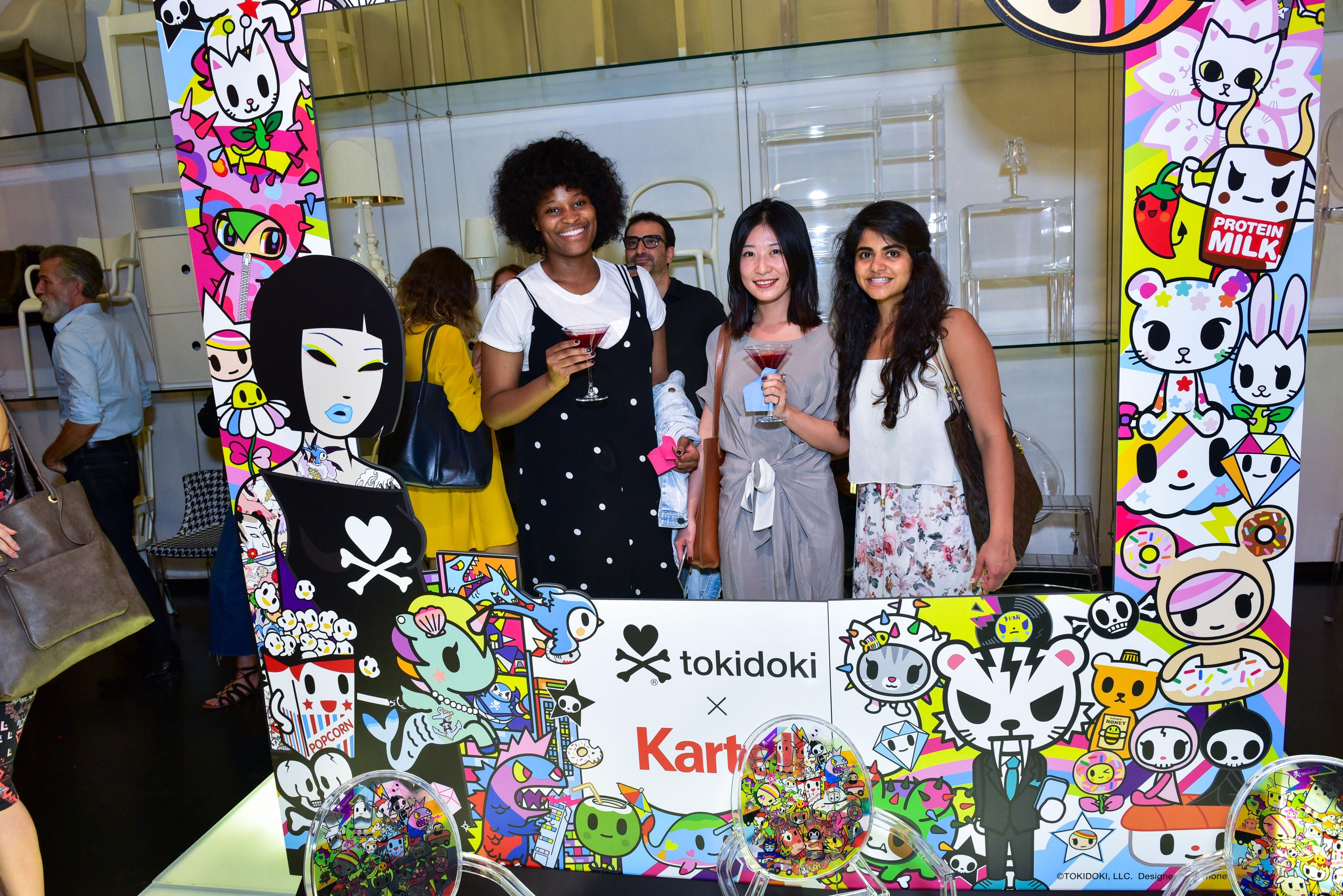 tokidoki x Kartell Launch Party