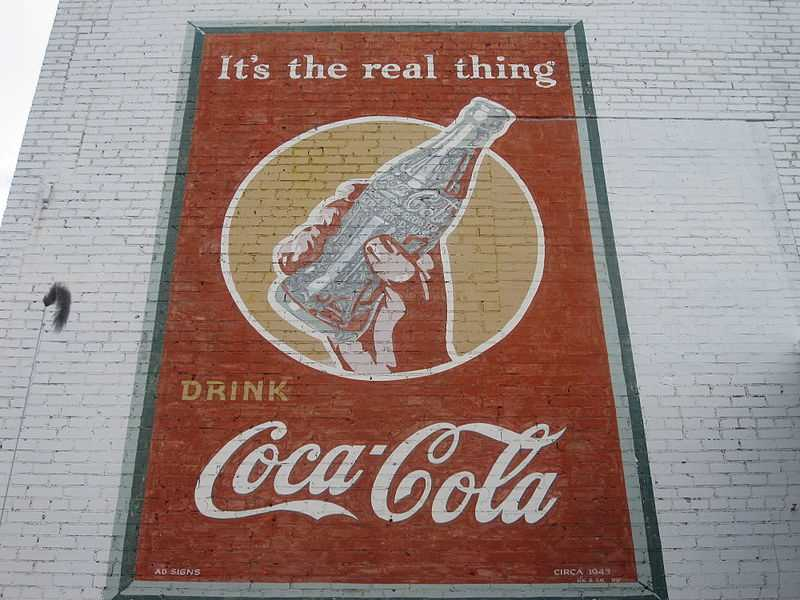 http://en.wikipedia.org/wiki/File:Coca_Cola_ad_ca._1943_IMG_3744.JPG