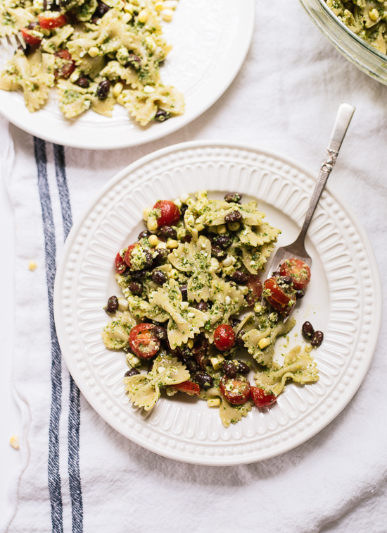 Bloglovin 5 pasta salad with tomatoes corn and jalepeno pesto view the recipe forumfinder Images