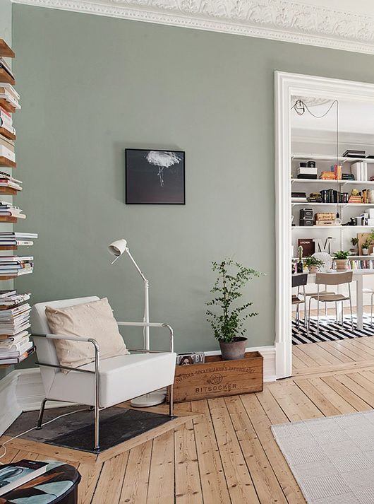 sage green living room. 10 Rooms That Will Make You Want Sage Green Walls Bloglovin