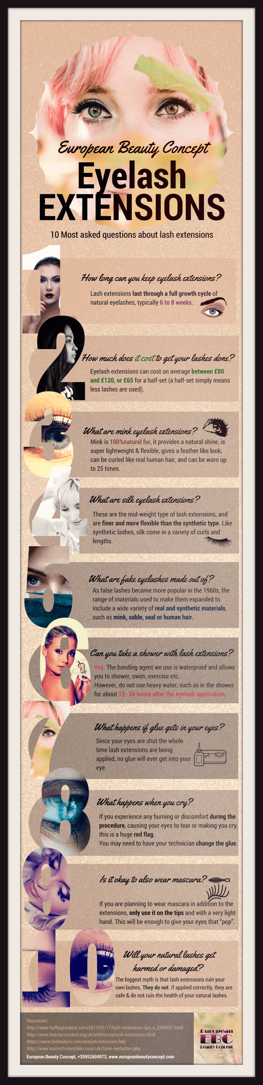 10 Most Common Questions About Eyelash Extensions Posts By
