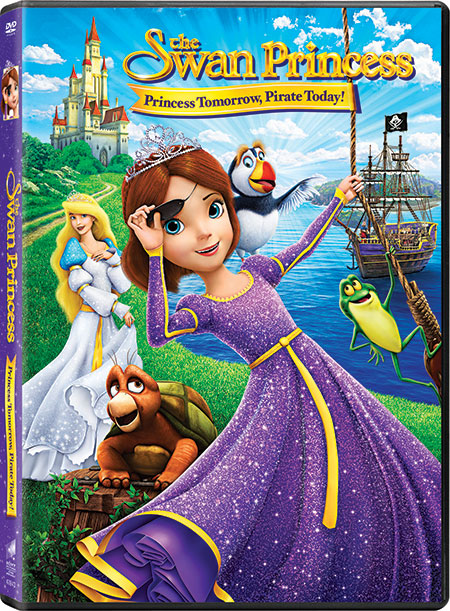 The Swan Princess: Princess Tomorrow, Pirate Today giveaway (ends 9/8/16)