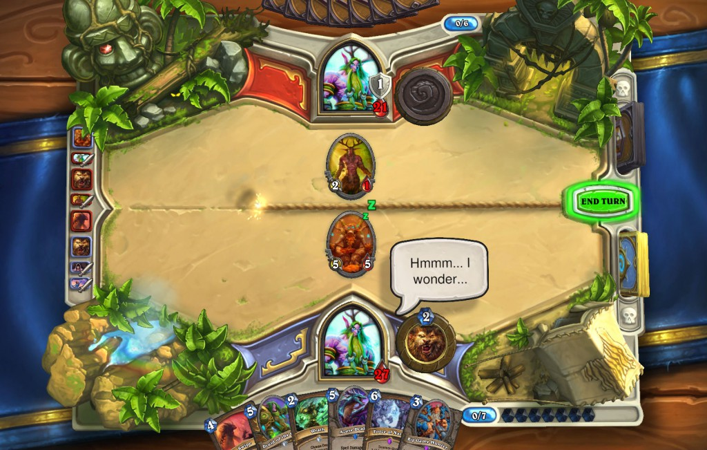 5 bluffing innervate
