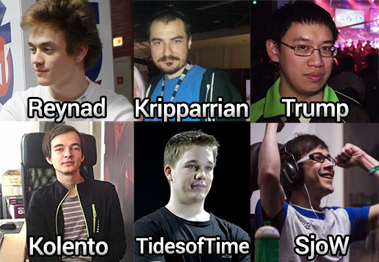 Reynad, Kripparrian, Trump, Kolento, TidesofTime and SjoW have all been confirmed for the Prismata Alpha Tourney November 20th.