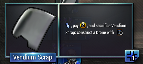 This mysterious item of questionable value made its appearance in the last event. What is it?