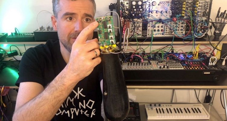 Electronic Musician Hacks Prosthetic Arm to Control a Music Synthesizer With His Mind