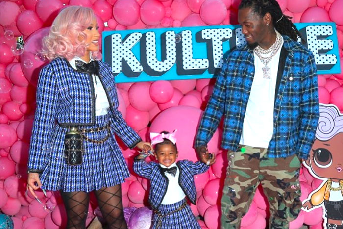 Cardi B and Offset Celebrate Kulture's 2nd Birthday