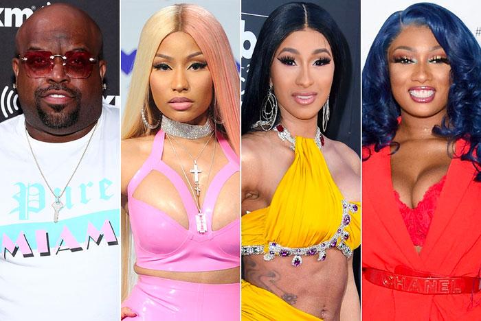 CeeLo Green Blasts Nicki Minaj, Cardi B, & Megan Thee Stallion for 'Shameless' Music