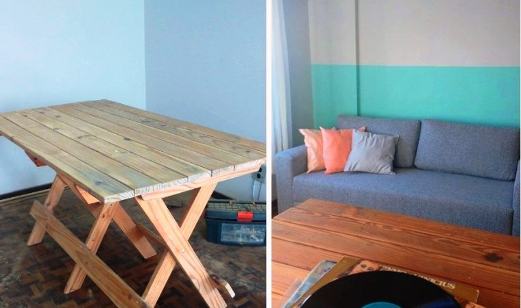 Reformando uma mesa de madeira (parte 1)