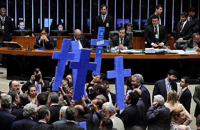 Plenário da Câmara dos Deputados durante votação da reforma trabalhista. Foto: Luis Macedo/Câmara dos Deputados