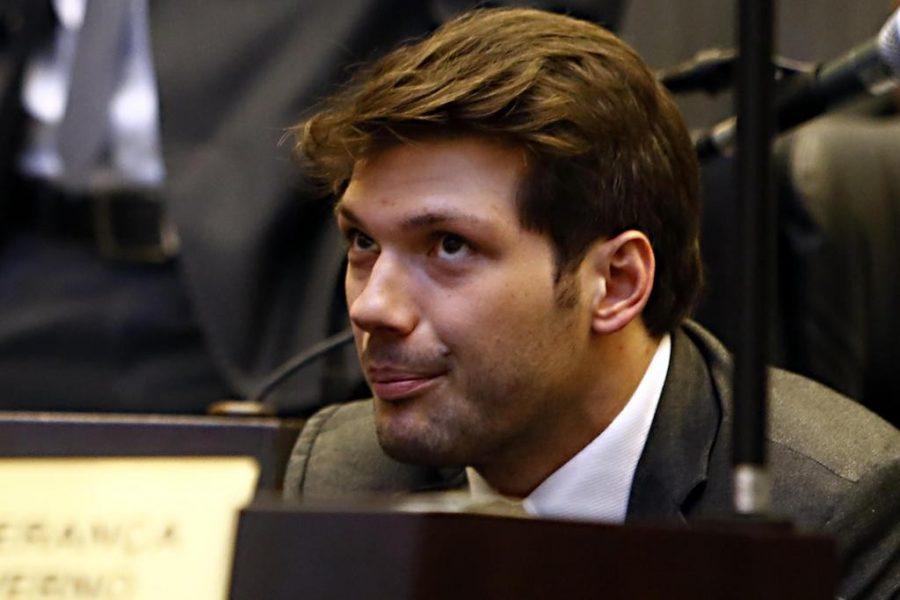Deputado estadual Tiago Amaral (PSB). Foto: Albari Rosa/Arquivo Gazeta do Povo
