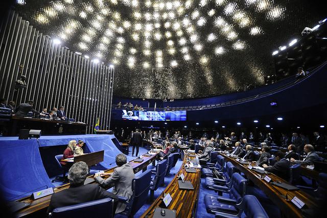Plenário do Senado. Foto: Marcos Oliveira/Agência Senado