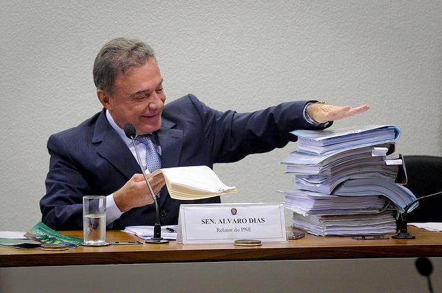 Senador Alvaro Dias (PODE-PR). Foto: Pedro França/Arquivo Agência Senado