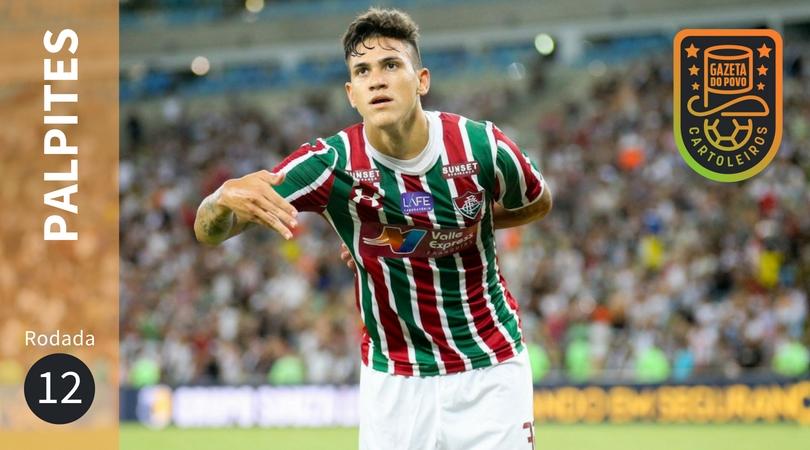 O Fluminense, do atacante Pedro, enfrenta o  Santos em jogo válido pela  12ª rodada do Brasileirão 2018. (Foto: Lucas Mercon/Fluminense)