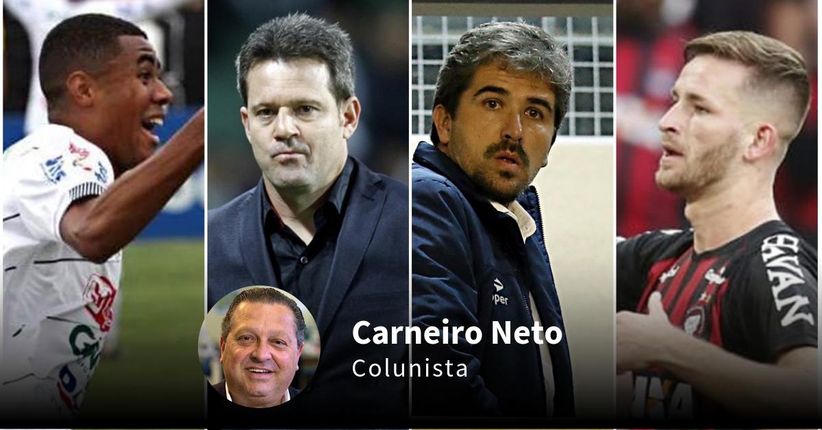 """Argel vem para evitar catástrofe no Coxa; Atlético """"caseiro"""" e calvário do Paraná"""