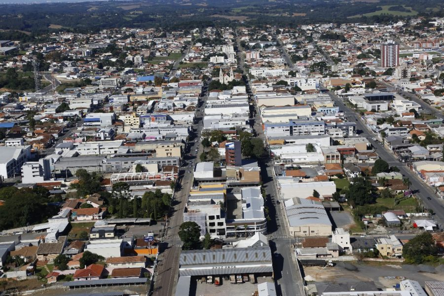 O município de Campo Largo tem cerca de 120 mil habitantes e está localizado na região metropolitana de Curitiba. (Foto: Divulgação/Fotopar)