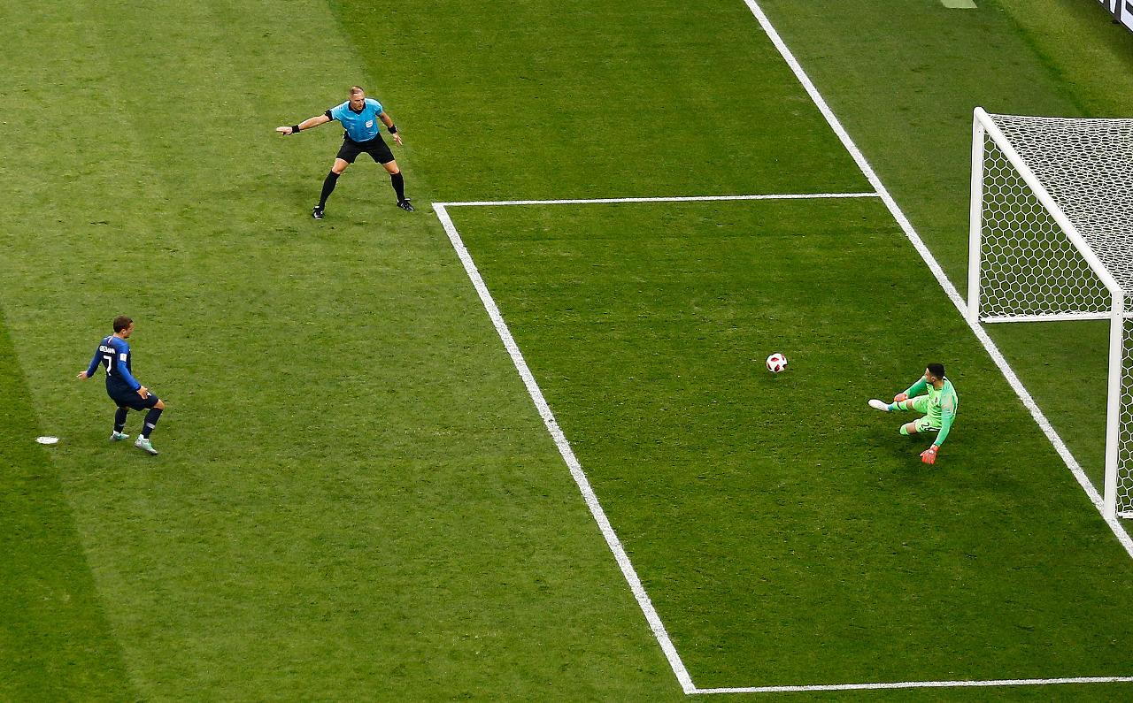 Melhor da final, Griezmann foi o jogador mais calibrado da Copa