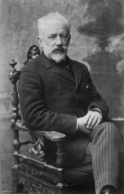 Tchaikovsky na época de sua morte
