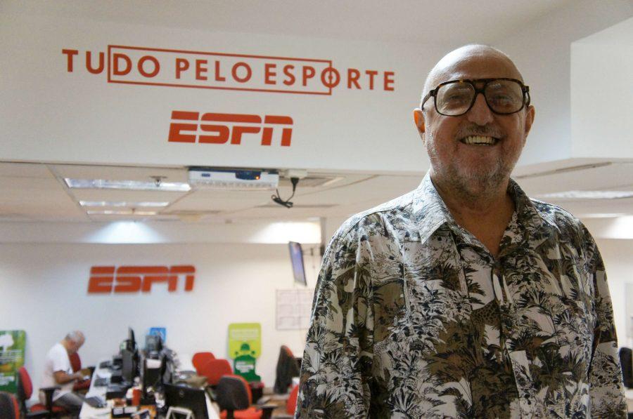 Xico Sá vai comentar a Copa na ESPN.