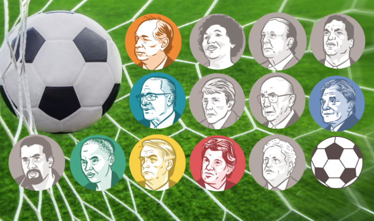 Conheça o time do coração dos candidatos à Presidência do Brasil