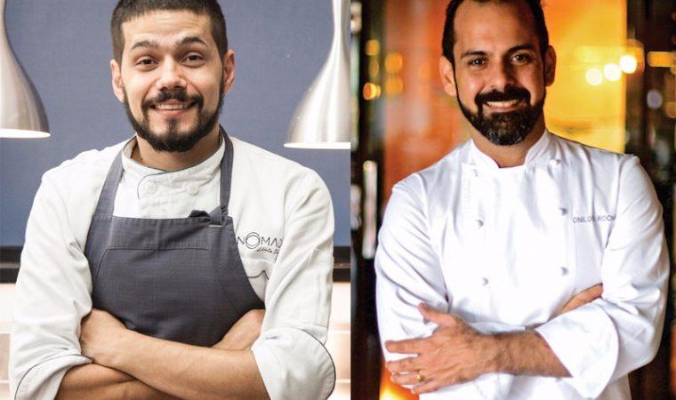 Onildo Rocha, sensação do Nordeste, vem cozinhar com Lênin Palhano no Nomade