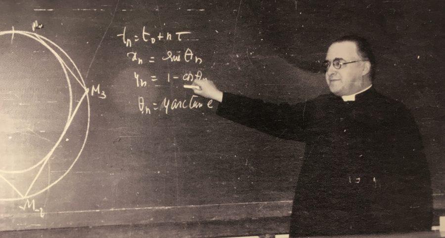O padre Georges Lemaître