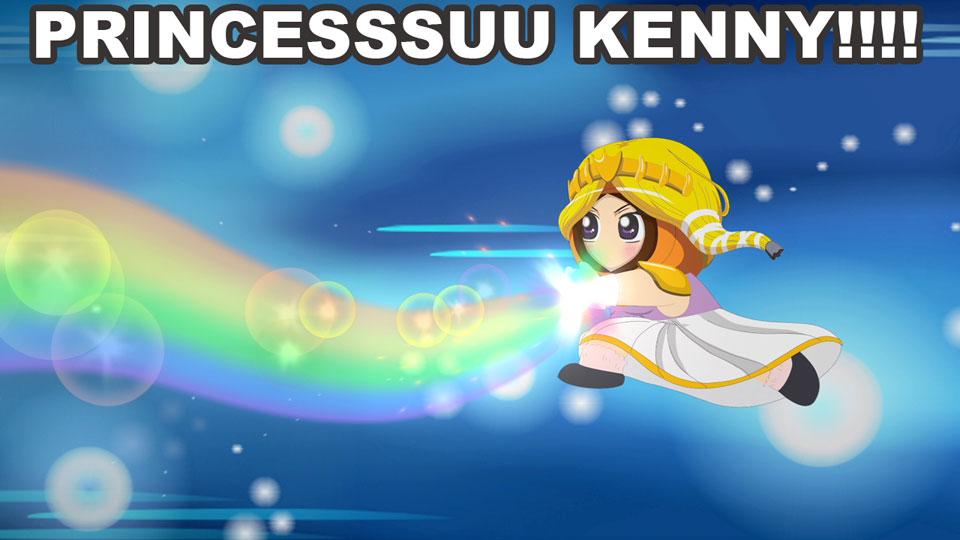 Ima kara… PRINCESSSUU KENNY!!!!