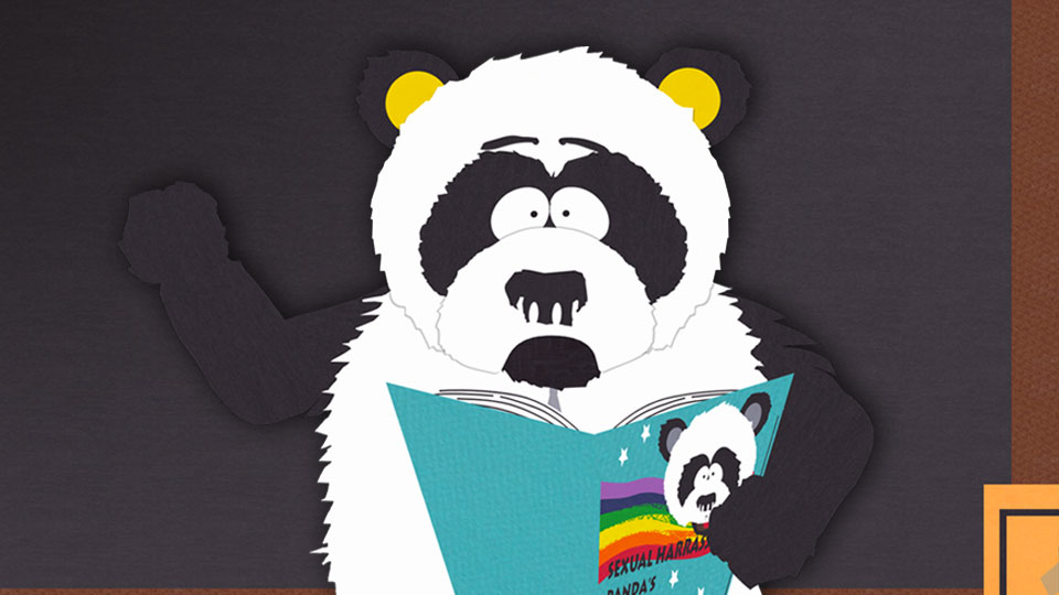 Fan Question: Where did the idea for Sexual Harassment Panda come from?