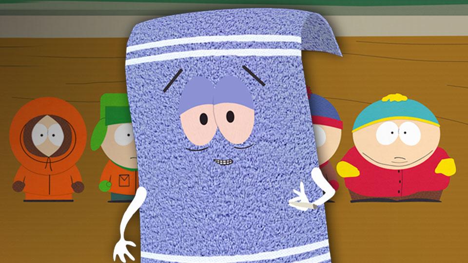 South Park Handtuch