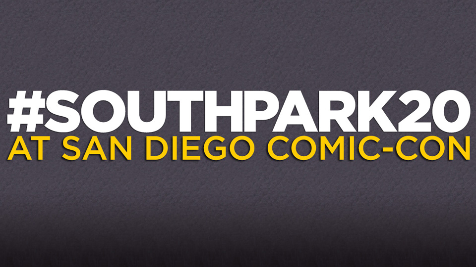South Park comes to life…at Comic-Con!
