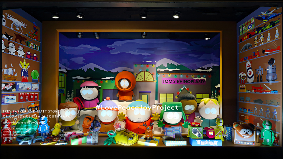 South Park at Barney's New York