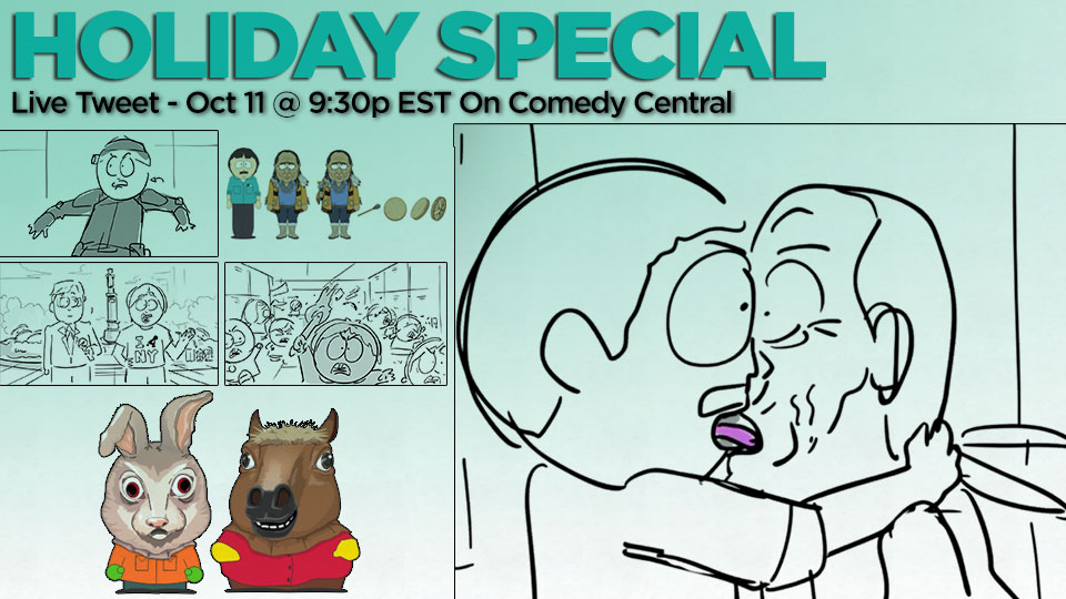 """Holiday Special"" Live Tweet Wednesday 10/11!"