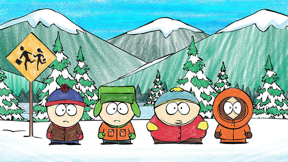 South Park Coloring Page