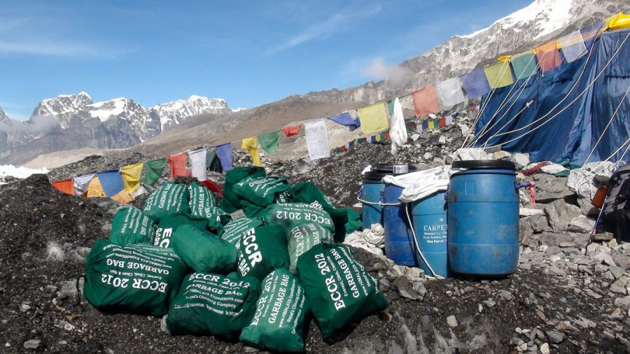 Everest Clean Up Campaign