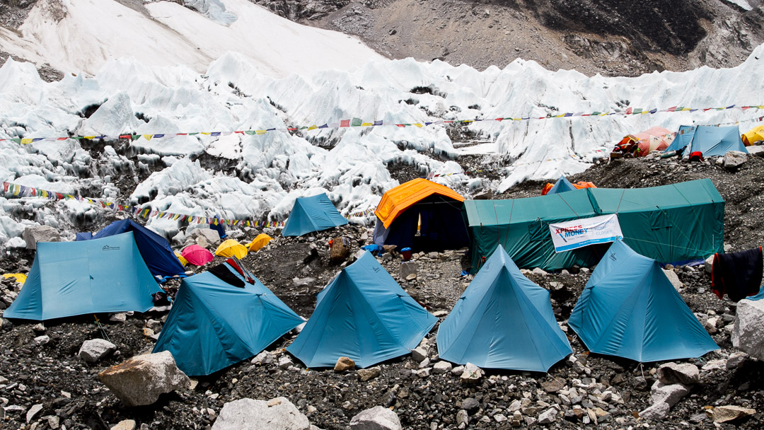 Everest Base Camp aka the Tented City