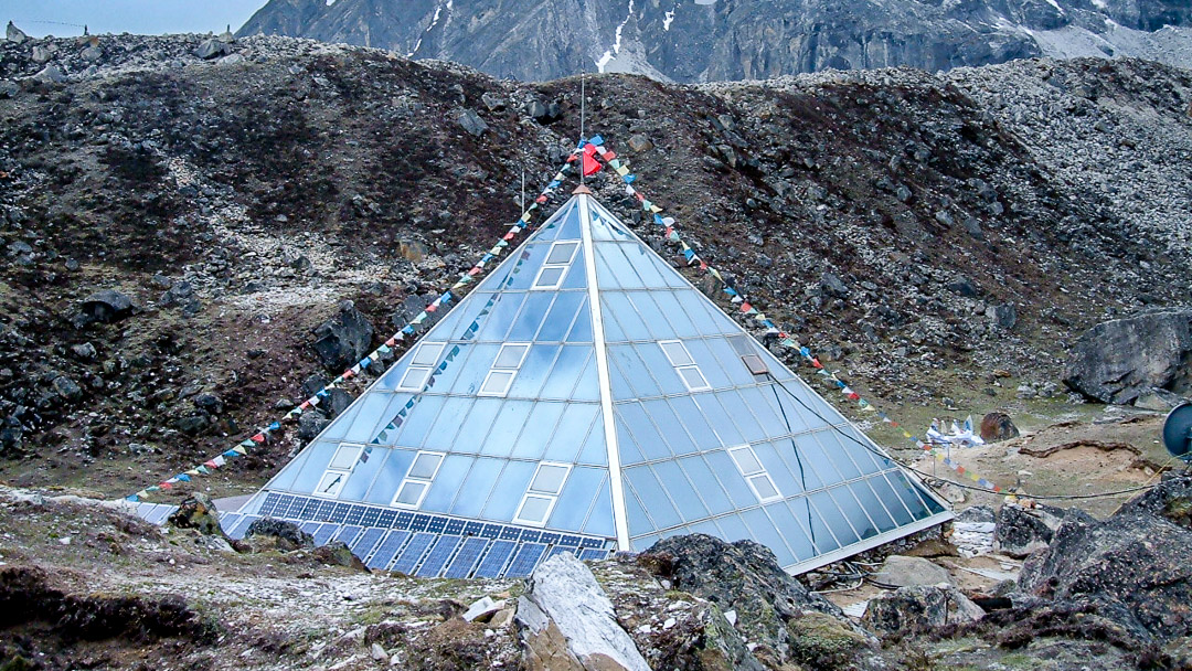 The Pyramid at Lobuche