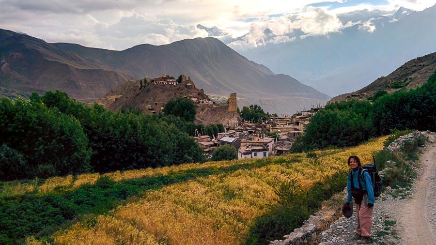 Jhong Village Annapurna Circuit Trek