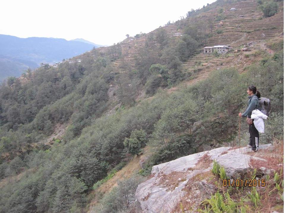 Ujani's Trip to Ghandruk