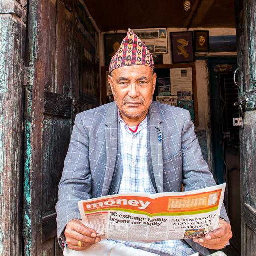 Biku Narayan Tamrakar of Panauti